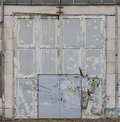 door big metal industrial